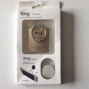 iRing Universal Smartphone Mount (Gold)